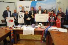 W Opolu na WOŚP wylicytujesz m.in. medal wicemistrza świata czy piłkę z Euro 2012