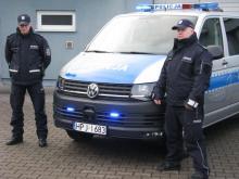 Nowe radiowozy dla oleskich policjantów