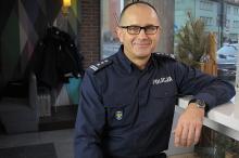 Insp. Jarosław Kaleta - roczne podsumowanie pracy policji wypada dobrze