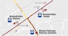 """MZK informuje: Uruchomiono dodatkowy przystanek """"Niemodlińska-Hallera"""""""
