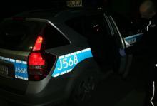 Przyjechał się wyszaleć .... znieważył policjantów i uszkodził radiowóz