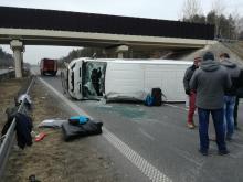 Wypadek na autostradzie A4. Droga na Wrocław zablokowana