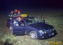 25-latek zaatakował taksówkarza pod Brzegiem