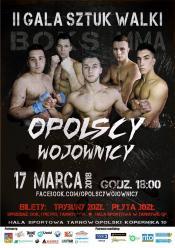Opolscy Wojownicy - Gala Sztuk Walki już 17 marca w Tarnowie Opolskim