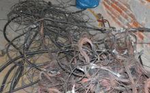 Zatrzymany za kradzież kabli