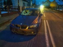 Starszy mężczyzna zginął pod kołami BMW