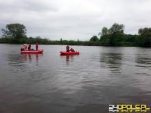 Strażacy wyłowili z rzeki ciało poszukiwanego Bartosza Nizińskiego