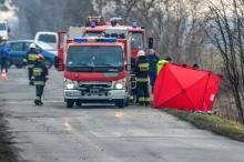 Tragiczny wypadek w Goli Grodkowskiej, 18-letnia rowerzystka zginęła na miejscu