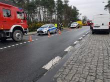 <i>(W wypadku w Grodźcu poszkodowana została jedna osoba)</i>