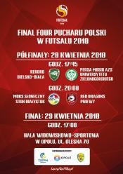 Final Four Halowego Pucharu Polski. Emocjonalny weekend w okrąglaku !