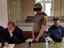 Ruszył proces Sebastiana K., który w grudniu ubiegłego roku podpalił kamienicę w Prudniku