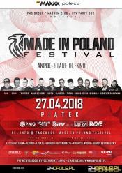 Już w ten piątek MADE IN POLAND festival- WYGRAJ BILETY
