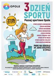 3. Dzień Sportu - Poznaj sportowe Opole już w niedzielę 27 maja