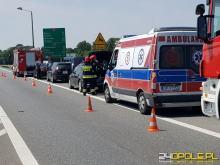 Zderzenie na obwodnicy Opola, sprawcy szuka policja