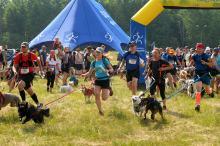 Ponad 100 uczestników zameldowało się na starcie I opolskiego Dogtrekkingu