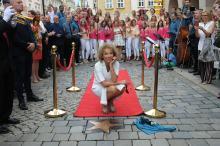 Gwiazdy Alicji Majewskiej i Krzysztofa Klenczona uroczyście odsłonięte