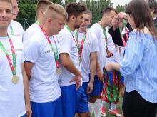 Politechnika Opolska zwycięża Akademickie Mistrzostwa Polski w piłce nożnej