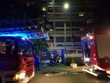 Interwencja strażaków na Piotrkowskiej w Opolu, policja szuka sprawców podpalenia