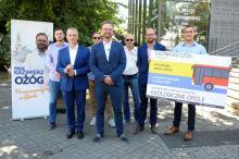 Kandydat na prezydenta miasta Opola, Kazimierz Ożóg rozpoczyna prezentację pomysłów