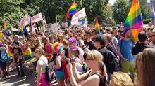 Pierwszy Marsz Równości w Opolu. Nie obeszło się bez kontrmanifestacji