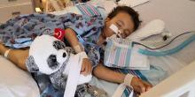 Karol Stadnik, mały wojownik z Opola regeneruje się po pierwszej operacji w USA