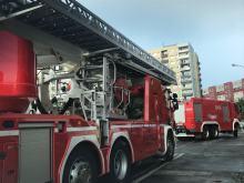 Aktywacja czujki pożarowej w piwnicy przy ulicy Bytnara Rudego