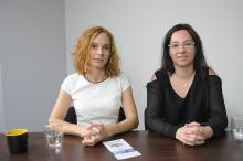 """Natalia Adamowicz i Justyna Kasprowicz - o projekcie """"od pomysłu do biznesu"""""""