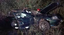 Koło Polskiej Cerekwi samochód z trzema nastolatkami wjechał w drzewo
