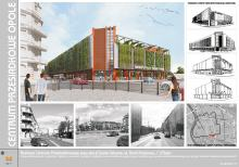 Tak będzie wyglądało centrum przesiadkowe przy Dworcu Głównym.