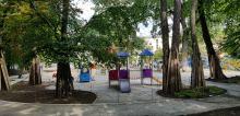 Nowy plac zabaw przy MDK nabiera barw. Kiedy będzie można z niego skorzystać?