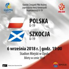 Ruszyła przedsprzedaż biletów na mecz U-19 Polska - Szkocja