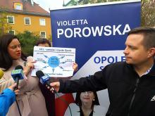 Violetta Porowska chce zlikwidować betonowe miasto. Jest odpowiedź KWW Wiśniewskiego