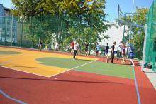 Nowe boisko dla Liceum Ogólnokształcącego nr II w Opolu uroczyście oddane do użytku