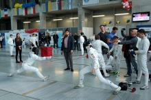 Ponad 130 zawodników na Międzynarodowym turnieju szermierczym w Opolu