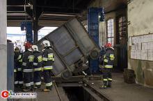 Tragiczny wypadek w Kluczborku. Mężczyznę przygniótł wagon pociągu