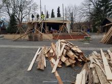 Ruszyła budowa żywej szopki przy parafii św. Józefa w Opolu-Szczepanowicach