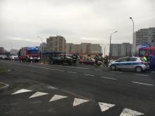 Niebezpieczne zderzenie na Sosnkowskiego w Opolu