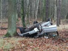 Zderzenie dwóch pojazdów pomiędzy Borkowicami a Skarbiszowem. Są ranni