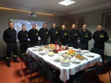 Wigilia na służbie. Państwowa Straż Pożarna w Opolu