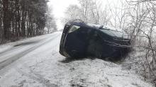 Złe warunki drogowe w województwie, doszło do wielu kolizji. Zobacz zdjęcia