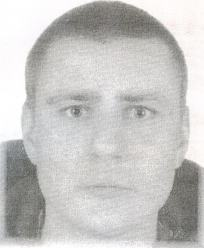 Poszukiwany listem gończym Damian Gralak