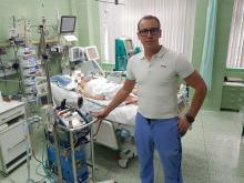 Mężczyzna trafił do szpitala z temperaturą ciała 22 stopni Celsjusza