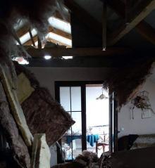 Wybuch w domu jednorodzinnym - 2 osoby poszkodowane