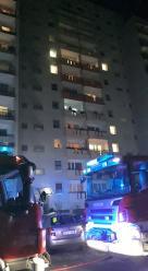 Pożar w bloku mieszkalnym przy Bytnara Rudego w Opolu