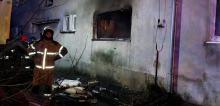 Wybuch butli z gazem w Gierałcicach. Interweniowało 11 zastępów straży