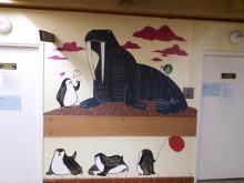 Wnętrza Uniwersyteckiego Szpitala Klinicznego pomalowali artyści