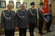 Mł. Insp. Bogdan Piotrowski pożegnał się z opolskim garnizonem Policji
