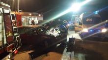 Zderzenie pojazdów w Gogolinie. Dwie osoby w szpitalu