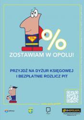 Potrzebujesz pomocy w rozliczeniu PIT? Przyjdź na dyżur księgowej do Urzędu Miasta Opola