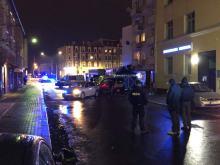 Policjant zastrzelił się w radiowozie w centrum Opola